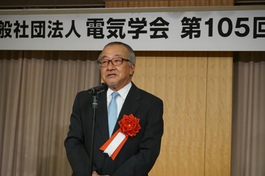 電気学会業績賞を受賞した高橋健彦教授